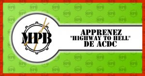 Apprendre Highway to Hell de ACDC à la batterie