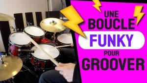 GroovyLoop: Une boucle funky pour groover à la batterie