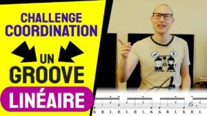 Groove linéaire pour mettre votre coordination à l'épreuve
